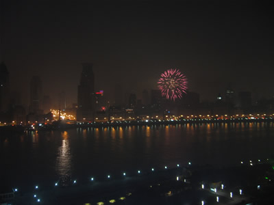 Chinese New Year in Shanghai