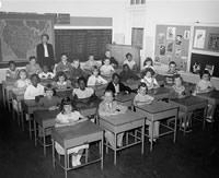 Old school room
