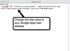 google doc shortcut