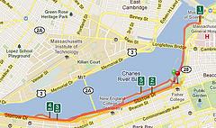 Run Keeper in Boston