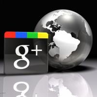globe google plus logo
