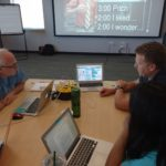 Teachers from Marysville School District  pitching their unit ideas
