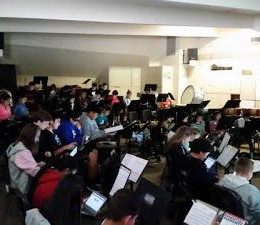 Chromebooks in Band Class